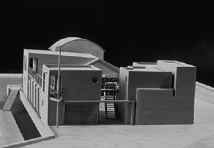 Asphalt Green Boathouse, 1989