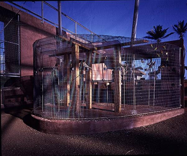 Aviary Detail, 1998