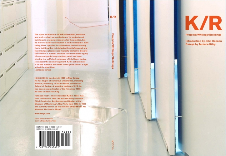 K/R Book Cover, 2007