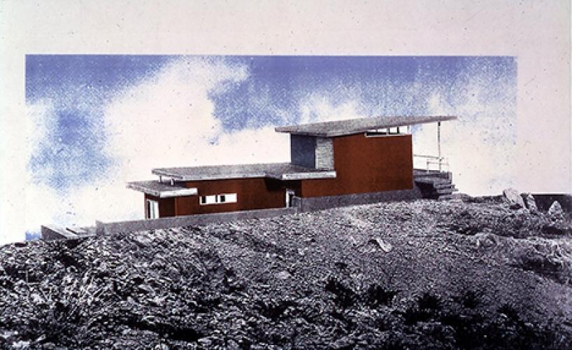 "Land House Study Model, New York, 1999"", 2007"