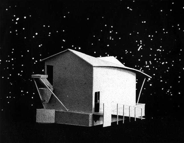 Sky Cabin, North Haven Island, ME, 1985